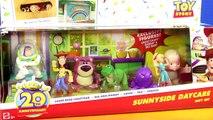 Disney Pixar Toy Story Sunnyside Daycare And Als Toy Barn Sheriff Woody Buzz Lightyear Lotso Rex