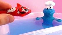 Animaux amicaux avec les poissons robots et le monstre qui dévore tout – Tinti poisson rob