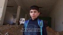 Les terribles images de Daraya en Syrie