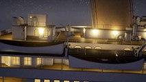 Le naufrage du Titanic en temps réel