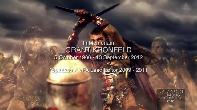 I Am Spartacus - Spartacus Victory - Andy Whitfield Tribute - Full HD