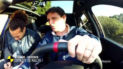 EM173 Mission : devenir copilote de rallye !