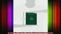 Read  Arabic Through the Quran Islamic Texts Society  Full EBook