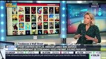 Les tendances à Wall Street: Amazon lance son service indépendant de streaming vidéo payant pour contrer Netflix - 19/04