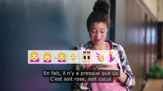 Always #CommeUneFille – Emojis filles
