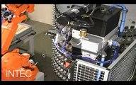Intec Robotic - Handle 10 - Robotic Cell Finishing Linishing Belting Polishing Buffing