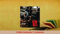 PDF  CUBA Cubanas Y Cubanos Download Online