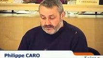 Intervention de Philippe Caro au conseil municipal de Saint-Denis suite à son éviction de la délégation au logement