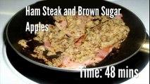 Ham Steak and Brown Sugar Apples Recipe