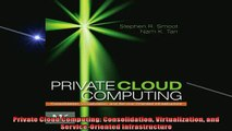 READ book  Private Cloud Computing Consolidation Virtualization and ServiceOriented Infrastructure  FREE BOOOK ONLINE