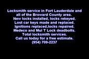 954-709-2237 Auto Locksmith Fort Lauderdale Keys