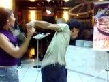 Verônica e Sugus curtindo um Samba-Rock