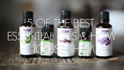 5 of The Best Essential Oils & How To Use Them