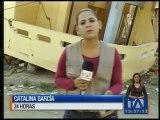 Damnificados reclaman la presencia de rescatistas en Manabí