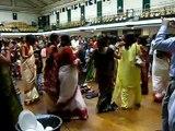 Durga Puja 2009 London - Dancing after Sindoor Khela @ York Hall Sanaton Association