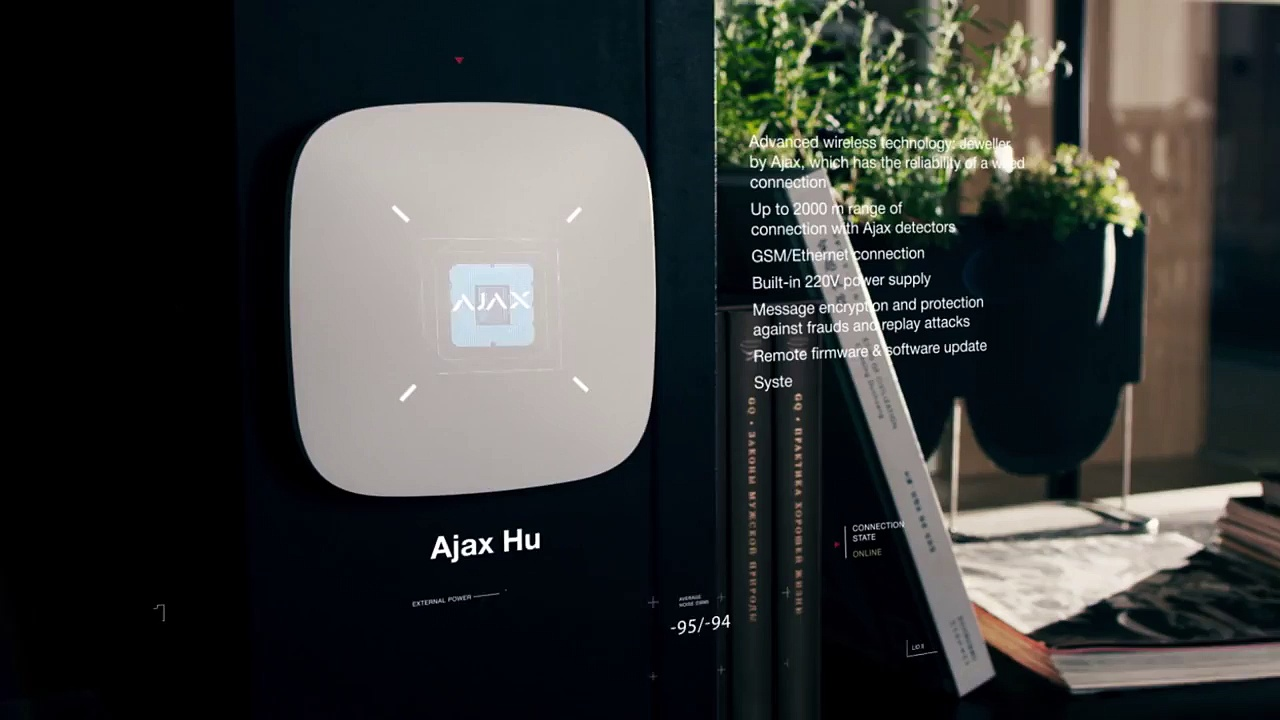 Ajax. The new generation of wireless security systems