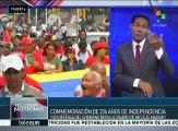 Venezuela: marchan en Caracas en apoyo a la Revolución Bolivariana