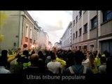 Angers - Nantes :Cortege des Nantais