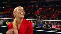 WWE Dolph Ziggler Long Kiss with Lana, Rusev Watches in Backstage [Lanas New Hair] June