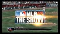 MLB 13 The Show: San Diego Padres @ Arizona Diamondbacks Highlight Reel