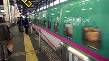 E5系はやぶさ・E6系スーパーこまち 盛岡駅切り離し・連結作業 【Shinkansen E5 & E6】