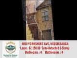 4850 YORKSHIRE AVE, MISSISSAUGA (Hurontario Eglinton Ave)
