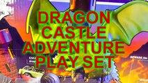 Dragon Castle Adventure Pixar Cars Lightning Mcqueen, Spongebob, Superhero Color Changer Matchbox