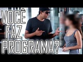 VOCÊ FAZ PROGRAMA?  - #OQNÃOFAZER