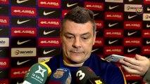 FCB Handbol: Declaraciones Xavi Pascual previa FC Barcelona Lassa - Rhein-Neckar Lowen