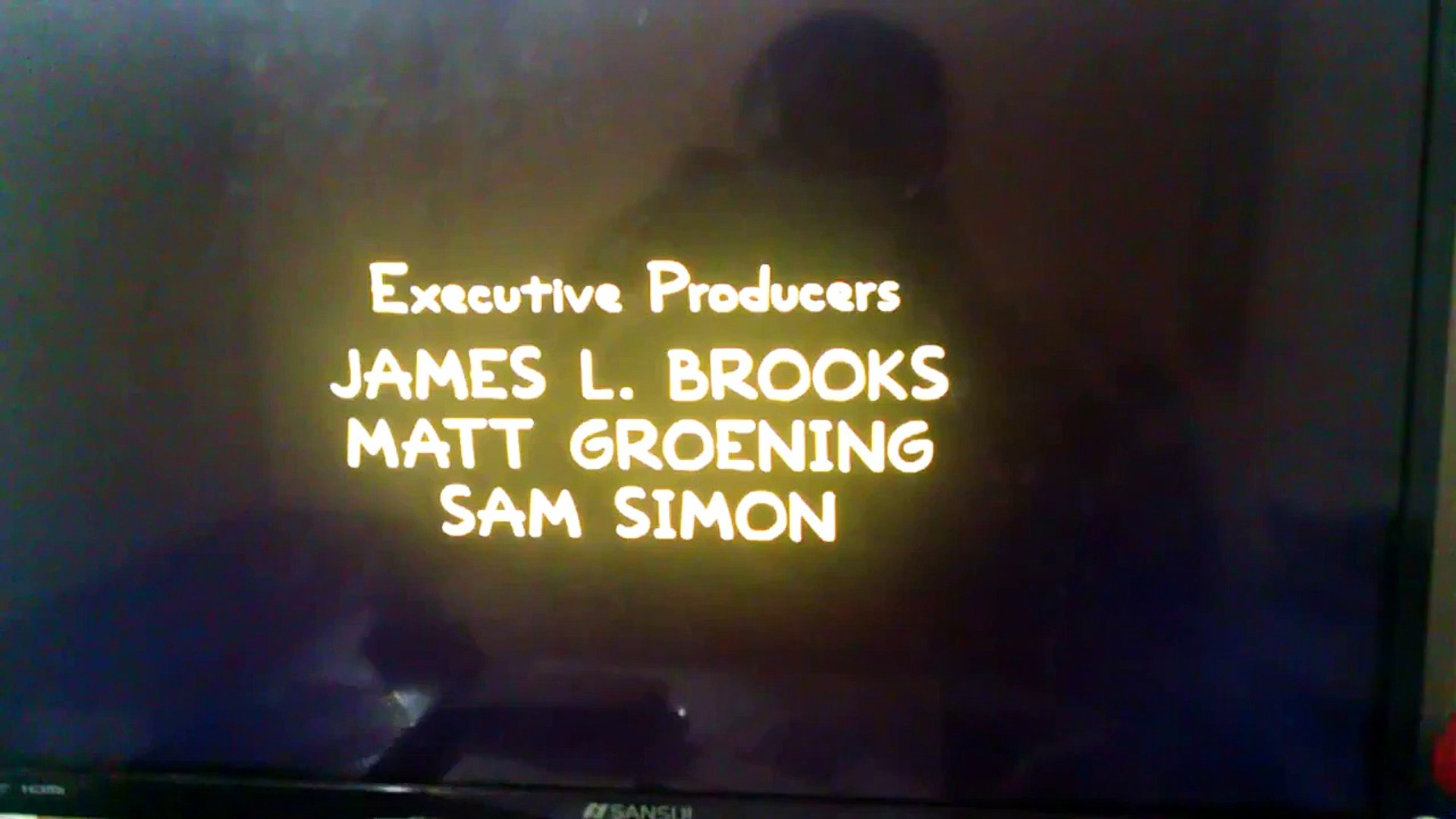 The Simpsons ending Credits