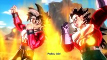 DragonBall Xenoverse Goku And Vegeta Fusion: Gogeta God Form