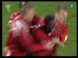 2008-09 16e de finale Coupe de la Ligue  Guingamp-St Etienne 4-1
