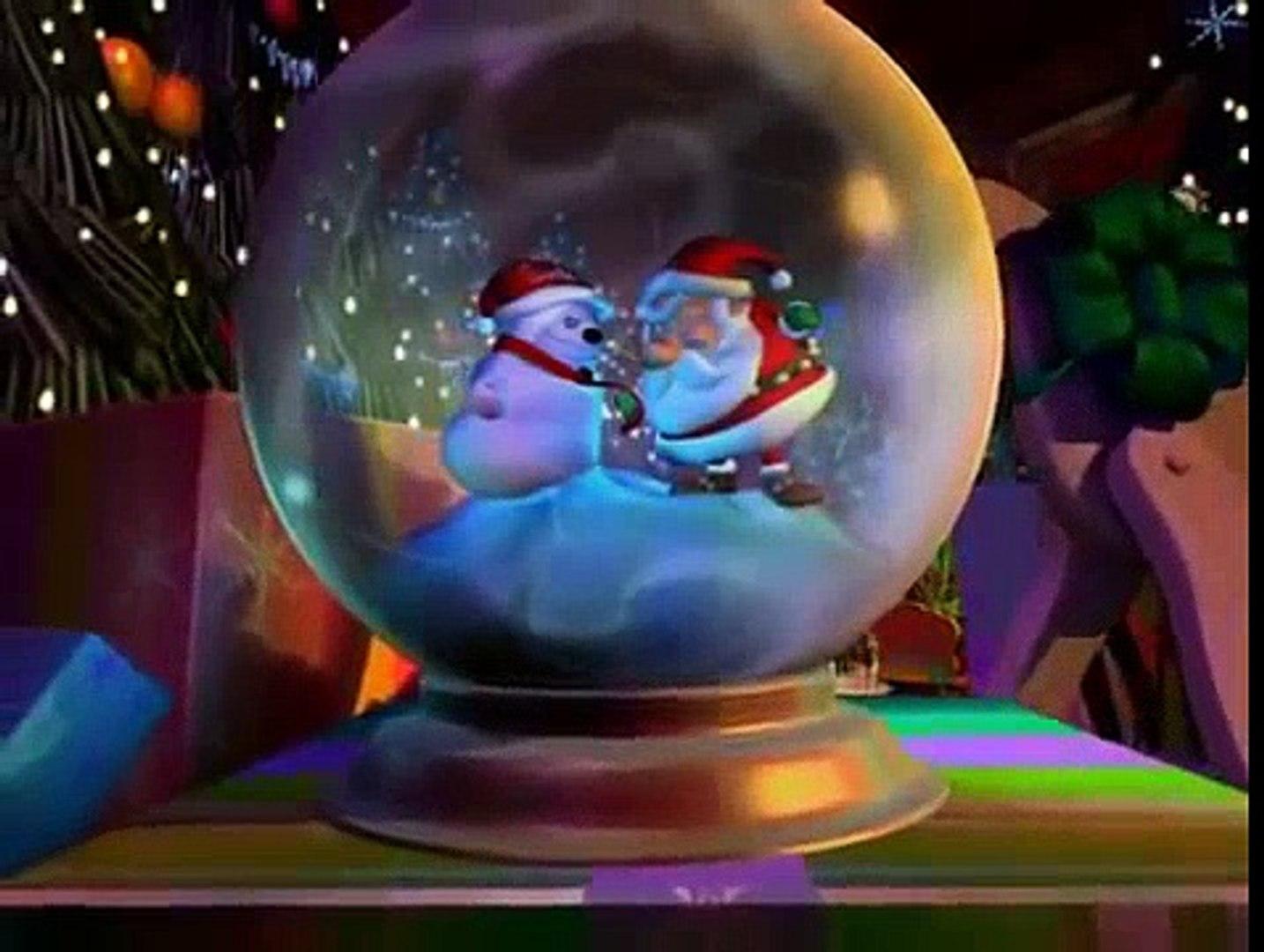 Le Père Noël Et Le Bonhomme De Neige Dessins Animés En Français