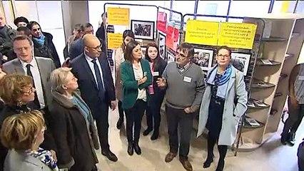 Clermont-Ferrand - Garantie Jeunes : Harlem Désir à la rencontre des jeunes soutenus par l'Europe