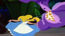 Alice In Wonderland - Flowers chases Alice away HD
