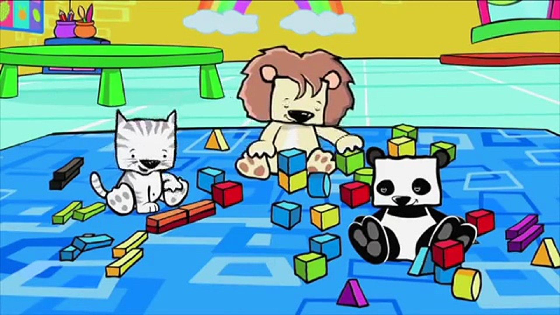 Развивающий мультфильм - Чудо Зверики - Игра в куб