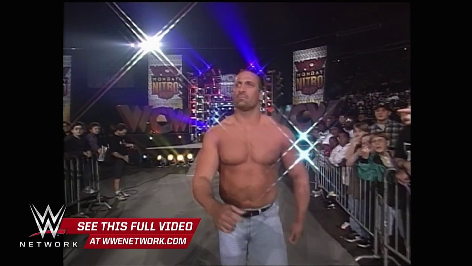 Rowdy Roddy gives a local athlete the opportunity of a lifetime: WCW Nitro, Mar. 1997: WWE Netw