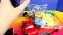 Disney Pixar Cars Lego Duplo Flos Cafe v8 Lightning McQueen Sally Mater Doc Hudson Batman Batmobile