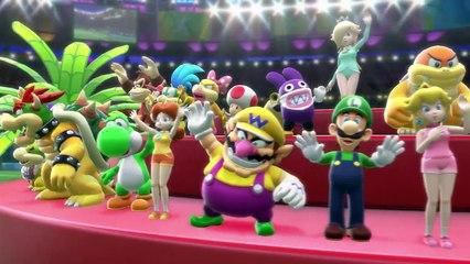 Scène d'ouverture de Mario & Sonic aux Jeux Olympiques de Rio 2016