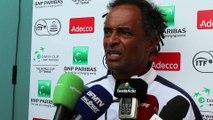 """Coupe Davis 2016 - Yannick Noah : """"La Guadeloupe ? On a fait le bon choix"""""""