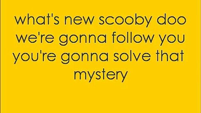Whats New Scooby Doo - Theme Tune - Lyrics ♥