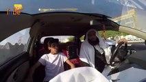 Un chauffeur de taxi veut commettre un attentat-suicide (Caméra cachée)