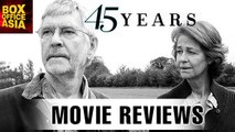 45 Years FULL MOVIE Review | Charlotte Rampling, Tom Courtenay | Hollywood Asia