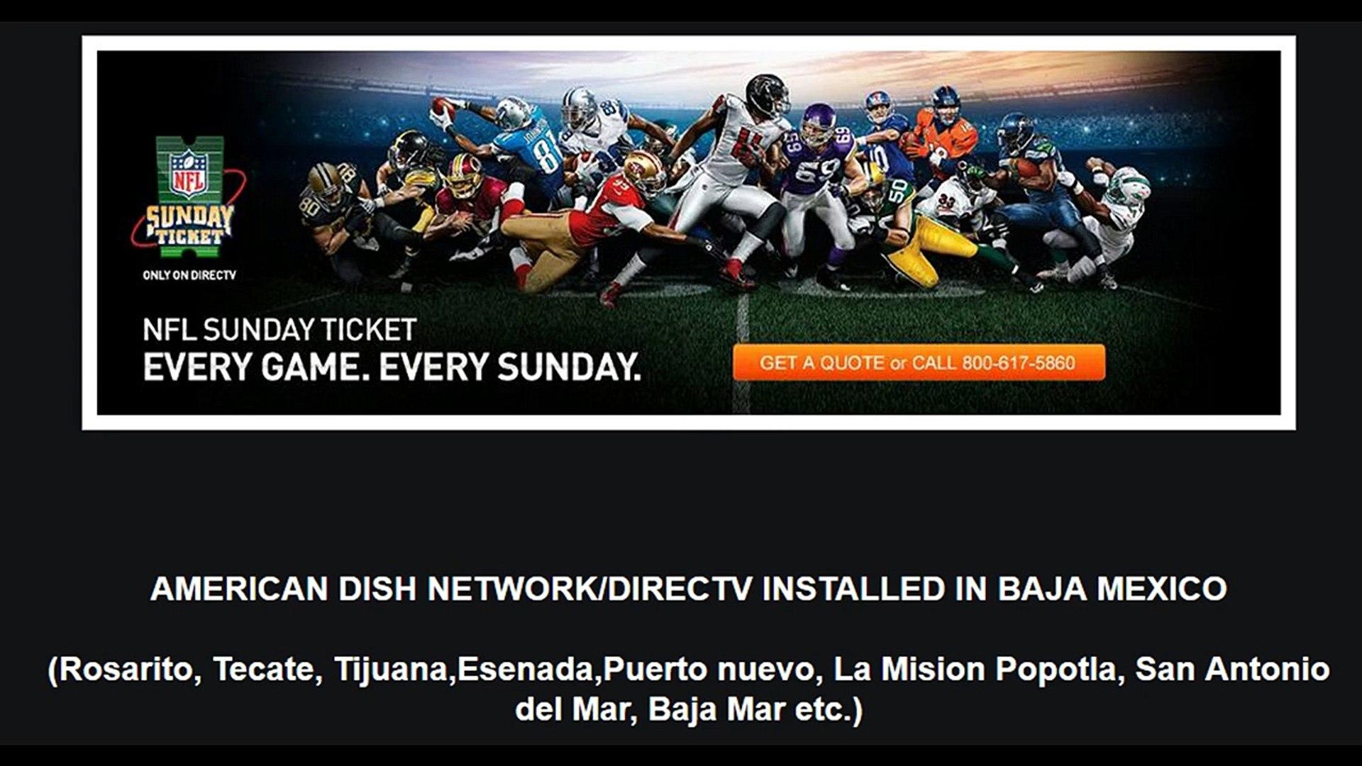 Directv,Dish Network,Shaw Satellite Repair and Installations Baja  California Tijuana Area