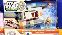 Disney Playskool Star Wars Jedi Force AT-AT Snow Speeder Luke Skywalker Darth Vader Imaginext Batman