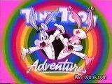 Tiny Toon Adventures Cartoon Opening Intro Theme Song Lyrics * toons