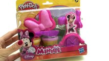 Play Doh Minnie Bows Play Doh Minnie Mouse Make Bows Shoes Disney Junior Mickey Mouse Club