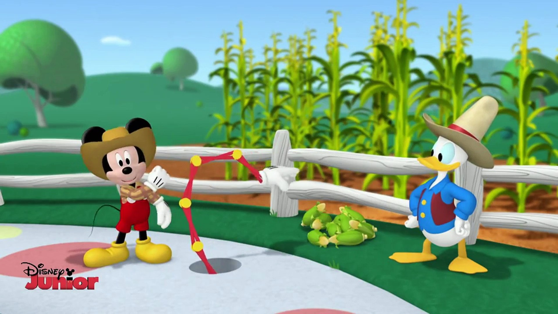 Mickey Mouse Clubhouse Mickey And Donald Have A Farm Song Official Disney Junior Uk Hd Dailymotion Video