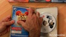 Disney Wall-E Finding Nemo Ratatouille Bugs Life DVD Steelbook unboxing review Pixar