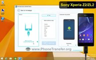 How to Transfer Contacts from iPhone to Sony Xperia Z2, Sync iPhone Contacts with Xperia Z3/Z4/Z5